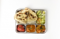 Non-Veg-Thali with Chicken Curry